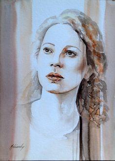 "Saatchi Art Artist Beata Belanszky-Demko; Painting, ""Not Alone II"" #art"