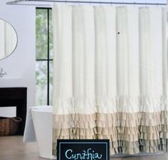 1000 Ideas About Brown Shower Curtains On Pinterest Fabric Shower Curtains