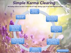 This infographic was inspired bySimple Karma Clearingarticle written by Ananya Sen. Click the image to see it in full size, then click Back in your browser to return here.  Love and Light!...