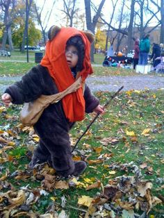 Yes! Ewok Halloween costume