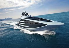 """Epiphany"" is 130-meter concept yacht by Andy Waugh. #epiphany #concept #yacht"