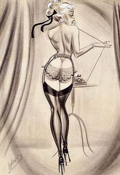 The Glamorous Pin-up Art of Bill Ward. love this mucho!