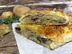 Strudel funghi e patate, ricetta vegetariana | Oltre le MarcheOltre le Marche
