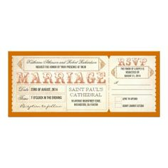 """old vintage wedding invitations - tickets & RSVP antique wedding invitations - chic vintage ticket and RSVP in one. Best for vintage or rustic weddings. I suggest a pretty textured """"linen"""" or """"felt"""" paper for this design . Western Wedding Invitations, Save The Date Invitations, Vintage Wedding Invitations, Wedding Invitation Templates, Custom Invitations, Wedding Vintage, Whimsical Wedding, Wedding Stationery, Pink Tickets"""