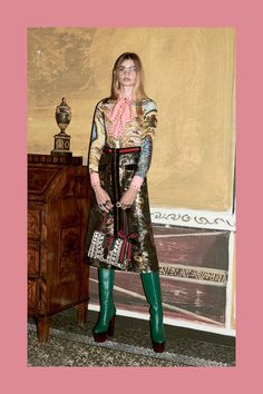 Catwalk photos and all the looks from Gucci - Pre Autumn/Winter 2016-17 Ready-To-Wear New York Fashion Week