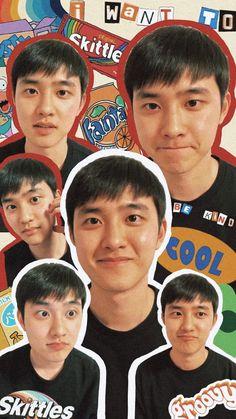 Kaisoo, Kyungsoo, Chanyeol, Daily Exo, Nct, K Pop, Exo Lockscreen, Exo Fan Art, Cute Wallpapers