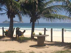 Hay mayor placer? Pues esto es cotidiano en las playas de Río de Janeiro.