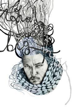 niishe – BIG mess Big, Illustration, Design, Illustrations