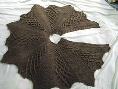 Prayer Shawl Ministries: Kathy Kelly Cabled Capelet