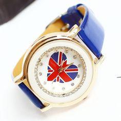 Relogio Feminino Women's LOVE UK Luxury Brand Dress Fashion Reloj Mujer Rhinestone Bracelet Gold Watch Montre Femme FreeShipping $10.85