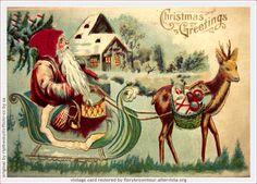 Risultati immagini per cartoline natale antiche
