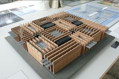 Peter Zumthor Swiss Pavilion Expo 2000,  maquette, architectural model, maqueta, modulo
