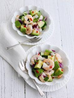 Ceviche d'avocat hass et de crevettes : Toutes les recettes et conseils de cuisine