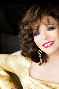 Joan Collins... Love her!!❤️