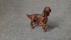 Breyer Setter repaint Irish red setter dog Modellhund Hunde modelhorses dogs - anja-franke-artworkss Webseite!