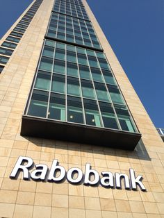 Rabobank office in Amsterdam