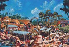 The Boneyard play site at Disney's Animal Kingdom