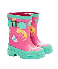 Joules Baby Printed Wellies