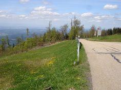 Bovenaankomst top Kandel vanuit Waldkirch