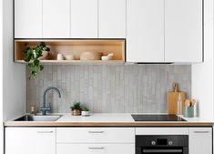 Kitchen System by Cantilever Kitchen Room Design, Kitchen Sets, Modern Kitchen Design, Home Decor Kitchen, Interior Design Kitchen, Country Kitchen, New Kitchen, One Wall Kitchen, Custom Kitchens