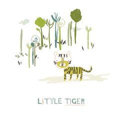 Little Tiger - A5 Print