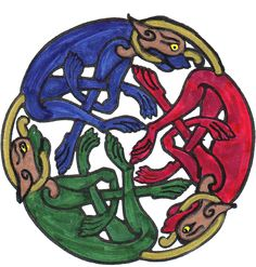 Celtic hounds