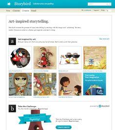 Illustrating your stories: Storybird | Blog de Cristina