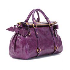 miu miu purple purse