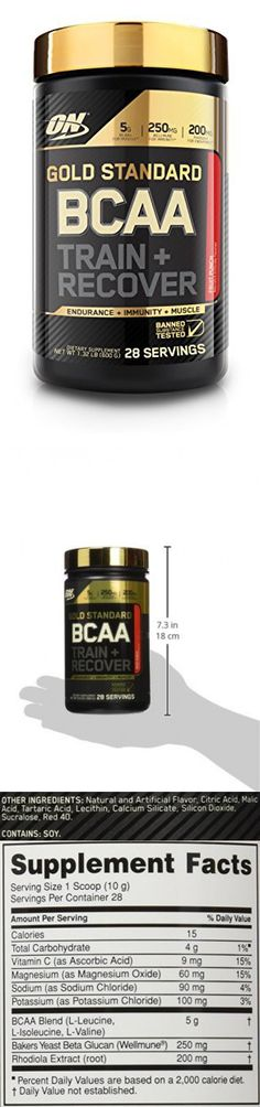 Optimum Nutrition Gold Standard BCAA, Fruit Punch, 280 Gram Optimum Nutrition Gold Standard, Magnesium Oxide, Amino Acid Supplements, Fruit Punch, Post Workout, Amino Acids, Recovery, Vitamins, Survival Tips