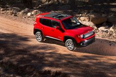 The 2015 Jeep Renegade is an all-new compact SUV that slots below the Cherokee in the brand's lineup.