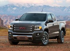 2015 GMC Canyon is a Chevy Colorado in Sierra clothing. http://aol.it/KcUXYX