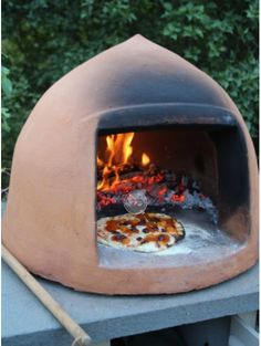 Out door oven.  Love it.  I'd use it!