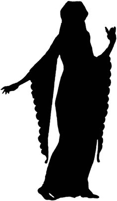 clipart fashion | 14th Century Fashion Silhouette | ClipArt ETC