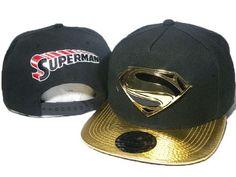 Superman Classic Men's Snapback Hip Hop Hat