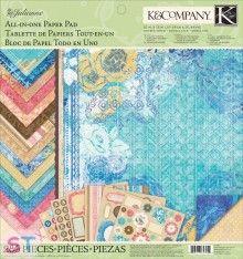 Paper pad Julianne Vintage All in One 12x12