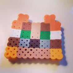 Minecraft osclot perler beads