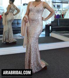 Prom Dress at Aria Bridal in Escondido, California.
