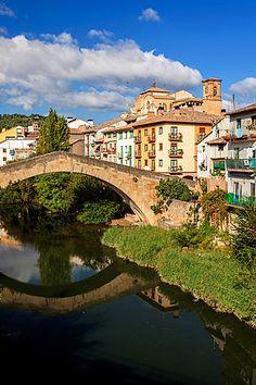 St. James way, Bridge of La Carcel -prison-, Estella, Navarra, Spain. #spain Places In Spain, Kingdom Of Heaven, Saint James, Prison, How To Find Out, Bridge, Around The Worlds, Stock Photos, Mansions
