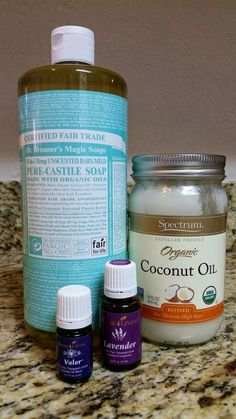 Made by Mags: Homemade Body Wash for Babies and Kids (made with Valor + Lavender Essential Oils)