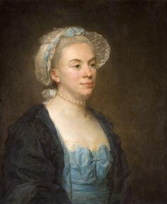 Portrait de femme - Jean-Baptiste Perronneau - huile sur toile, 52 x 43 cm, vers 1766 - Musée Jacquemart-André, Paris  © C. Recoura / Institut de France