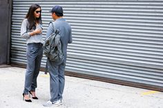 NYFW Street Style Photos - Spring 2015 New York Fashion Week Street Style Pictures - Elle