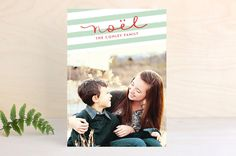 Noel in Charcoal by Frooted Design at minted.com