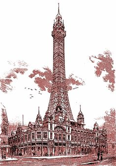 Annes on the Sea Lancashire - Local History - Blackpool Tower 1891 Blackpool England, Feet Gallery, Portland Cement, St Anne, Holiday Resort, Beautiful Castles, Local History, Vintage Travel Posters, Multimedia
