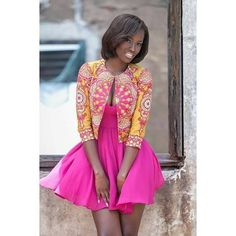 Ankara Short Gowns - Top Rated - #1 Nigeria Style Blog