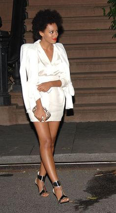 What Will Solange Wear on Her Wedding Day? Her Best All-White Red-Carpet Looks Leave Stylish Clues