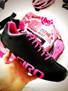 New Giro shoes for the Maglia Rosa