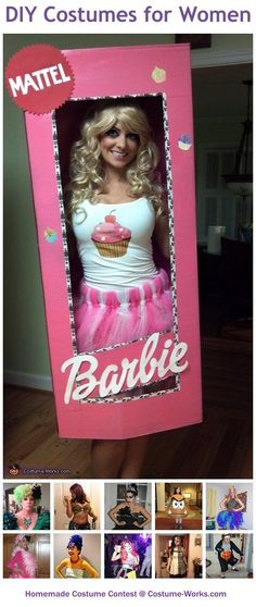 Homemade Costumes for Women – a huge gallery of DIY Halloween costumes!