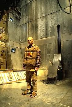 Bruce Willis in another Terry Gilliam Steampunk classic- 12 Monkeys