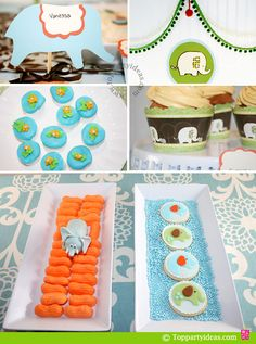 #Elephant Party Food and Decorations