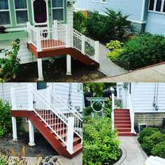 second story deck stairs